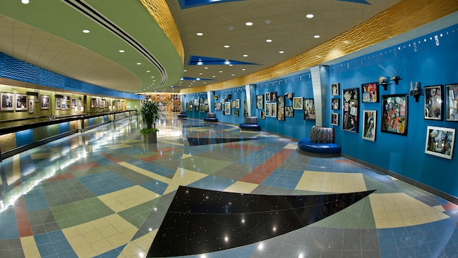 Disney Value Resort Pop Century Lobby