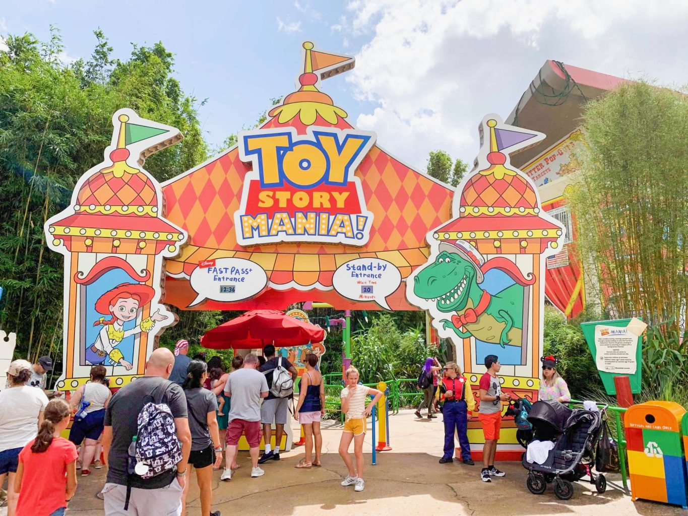 Toy Story Mania Ride Entrance