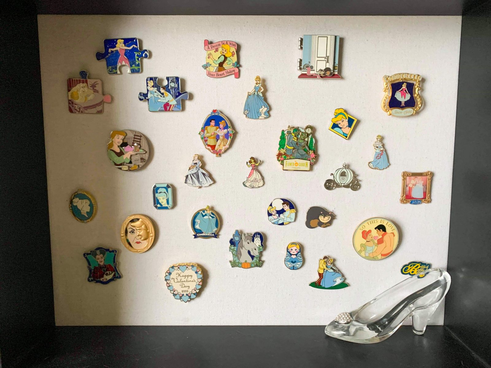 Cinderella pin display