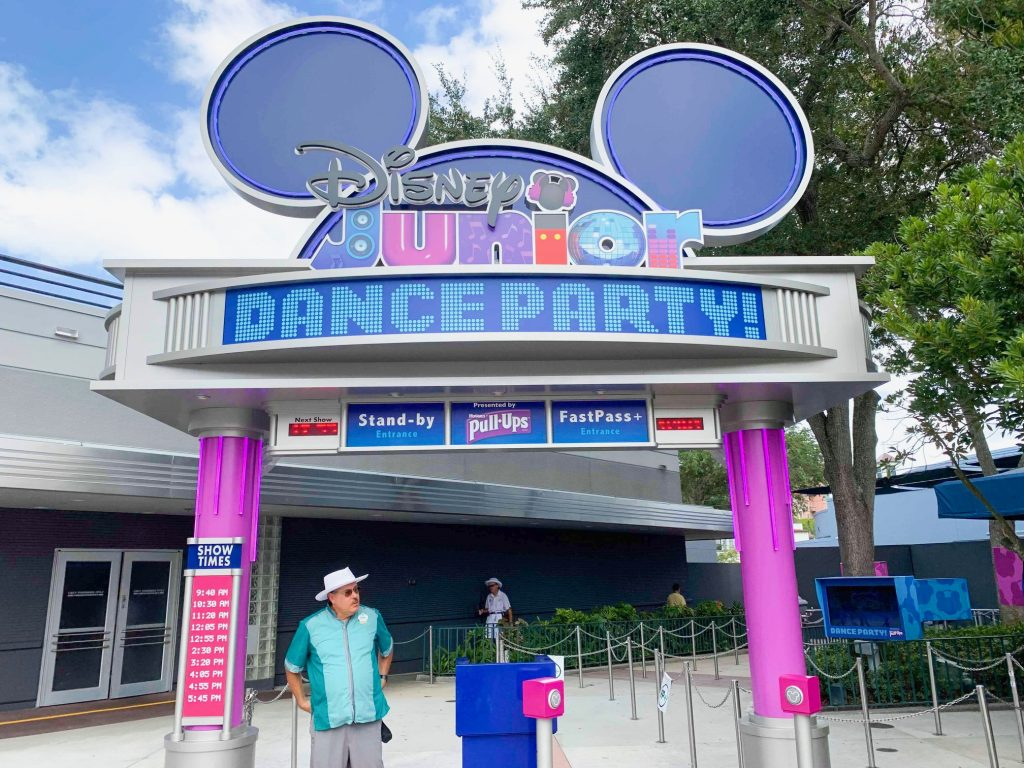 Photo of Disney Junior Dance Party, one of the worst options for your Disney World FastPass reservation.