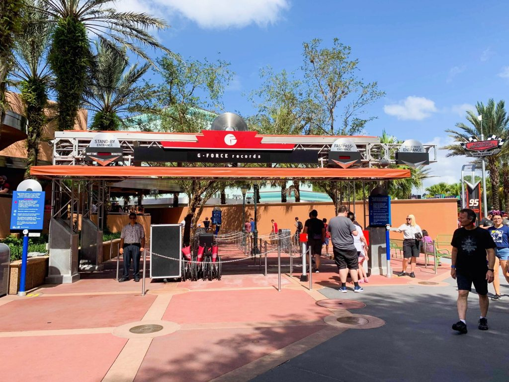 Photo of Rock 'n' Roller Coaster, one of the best Disney World FastPass selections!