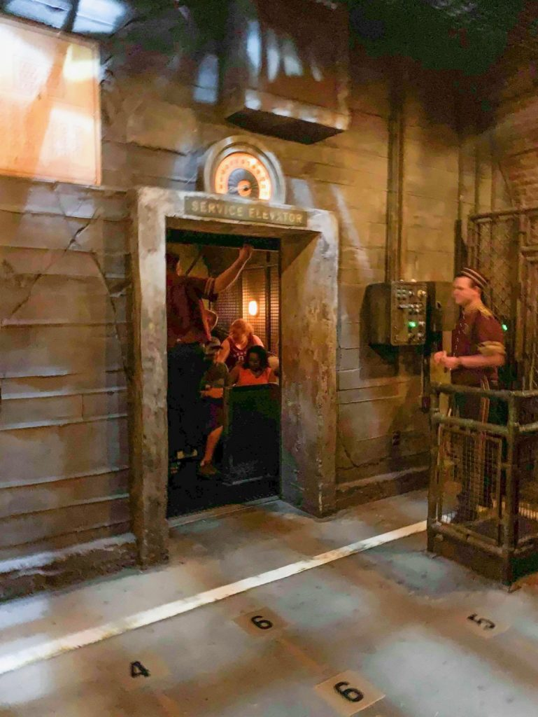 Photo of Tower of Terror, one of the best Disney World FastPass selections!