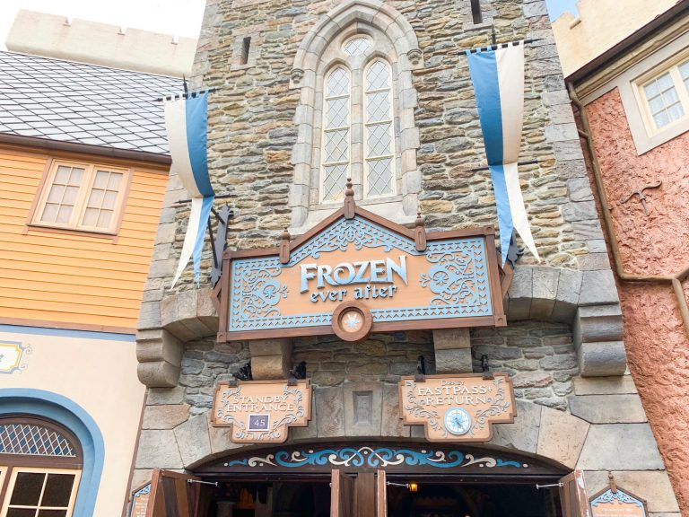 Photo of Frozen Ever After, one of the best Disney World FastPass selections!