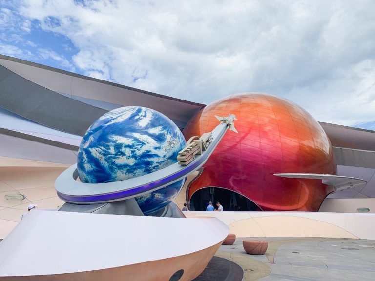 Photo of Mission Space, one of the best Disney World FastPass selections!