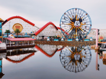 California Adventure's Pixar Pier at Disneyland