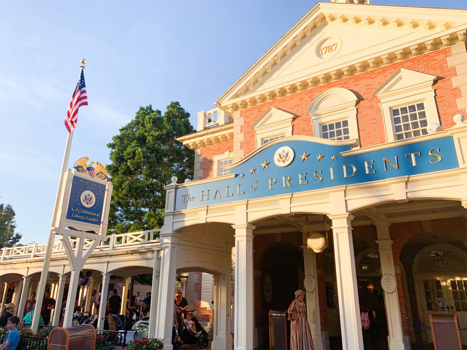 Disney World show hall of presidents