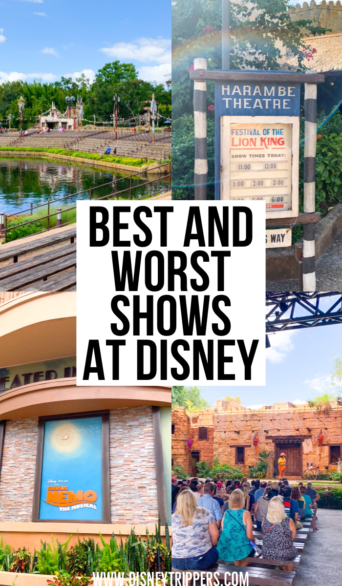 Best And Worst Shows At Disney World | 9 Best (And Worst) Disney World Shows | which shows are the best to watch at Disney world | best things to do at disney world | disney travel tips | what to do at Disney #disney