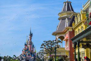 Disneyland Paris Castle from Main Street