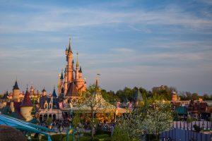 Disneyland Paris Castle Panorama