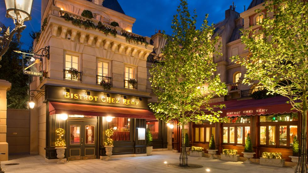 The outside of Bistrot Chez Remy in Disneyland Paris