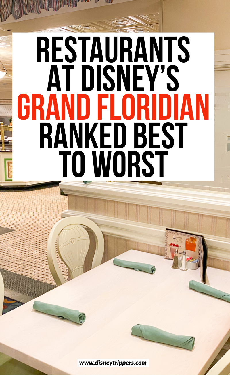 Restaurants At disney's Grand Floridian Ranked Best To Worst | 8 Best (And Worst!) Grand Floridian Restaurants | where to eat at Disney World hotels | Disney Grand Floridian dining | best dining at disney world | where to eat at Disney world