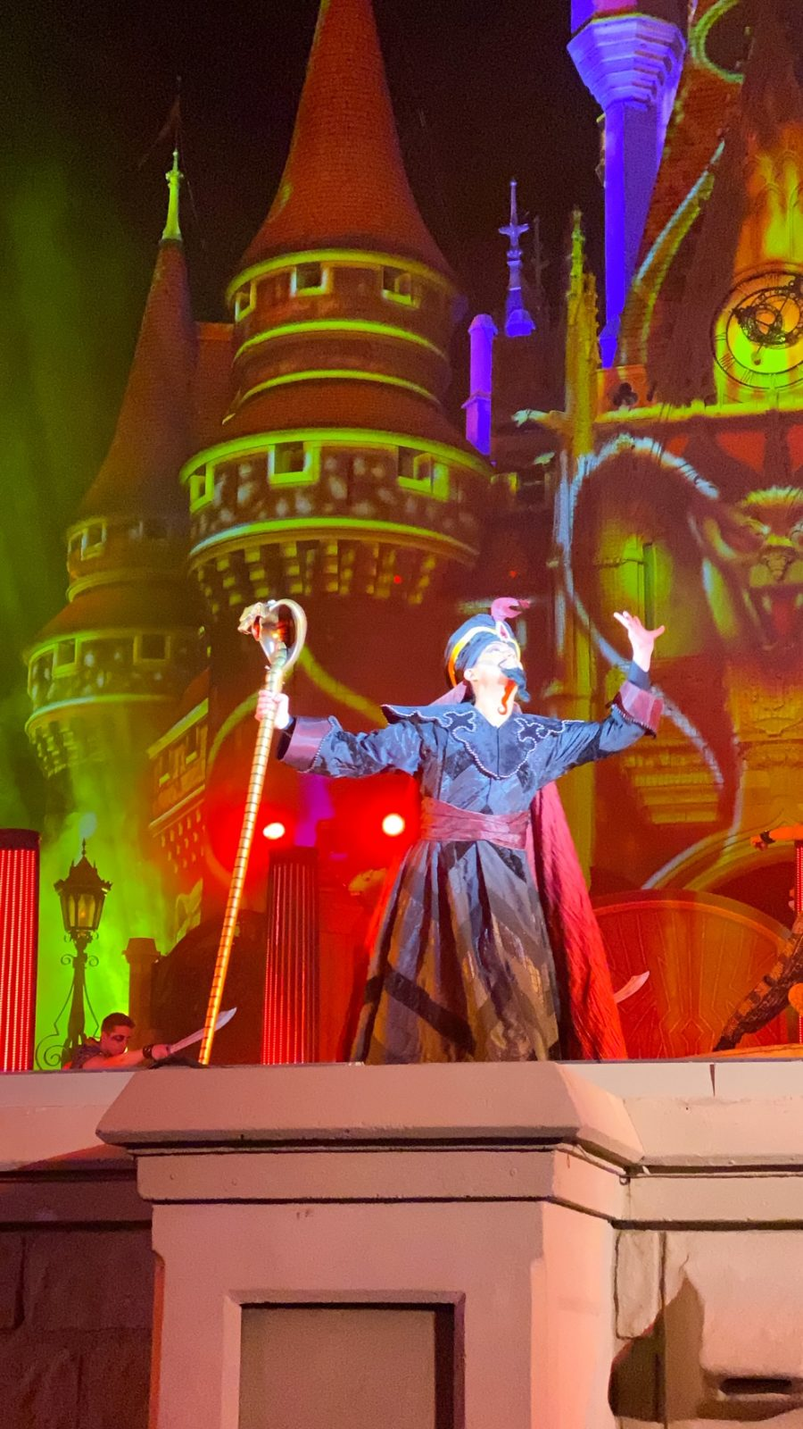Jafar at Villains after hours at Disney