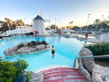 photo of the amazing Stormalong Bay water park, the pool at the Beach Club, best Disney resort for adults