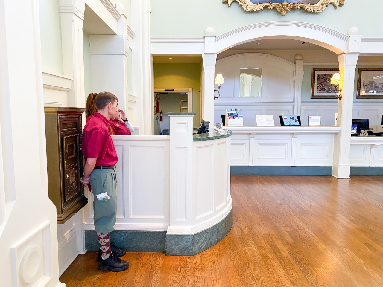 photo of Disney concierge; tipping at Disney