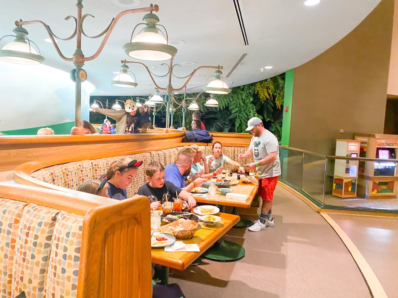 photo of people eating at table service restaurant a family service restaurant